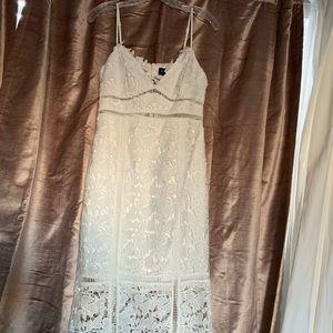 Bardot Ivory Lace Dress